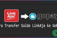 Cara Transfer Saldo LinkAja ke GoPay