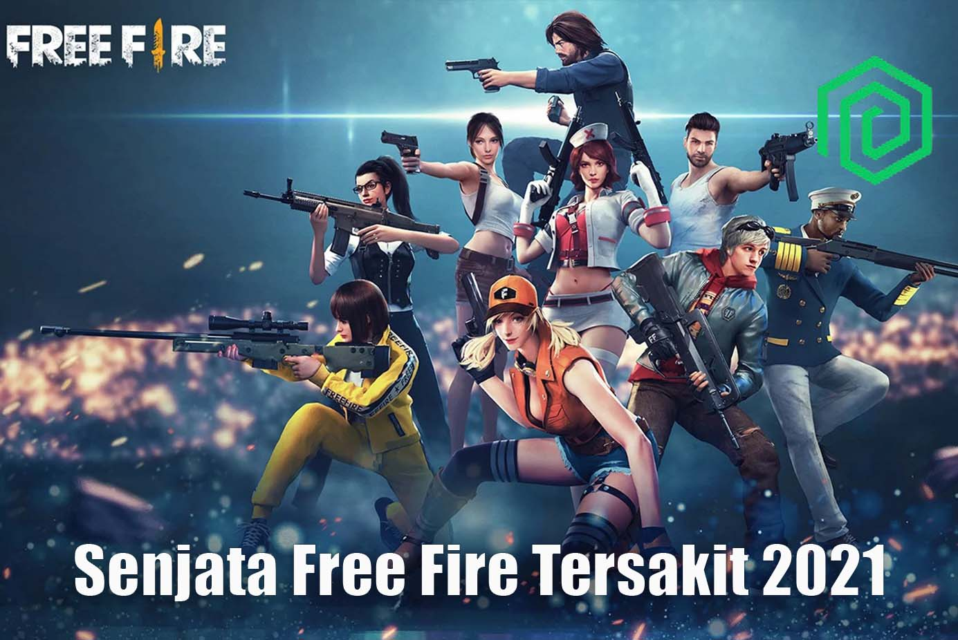 Senjata Free Fire Tersakit 2021